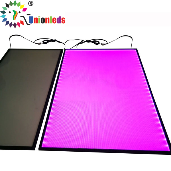 Colorful RGB LED Light Guide Panel