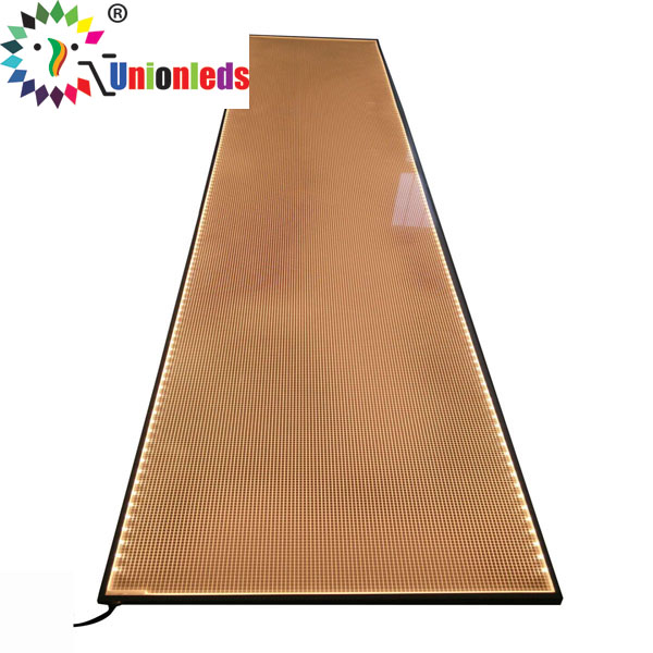 Edge lit Lumisheet LED light Guide Panel